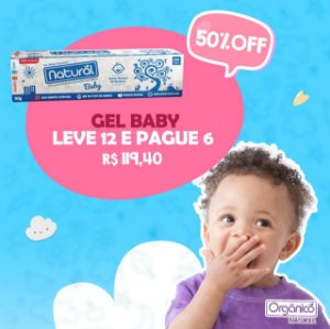 Combo gel Baby (leve 12 e pague 6)