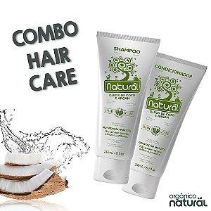 COMBO HAIRCARE  - 2 Shampoo Natural + 1 Condicionador Natural