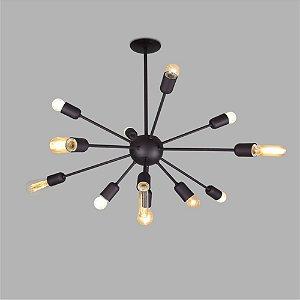 Pendente Sideral Metalico Usina Design 16300-12
