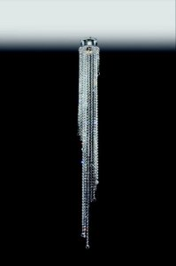 Plafon Cristal Transparente 140x16 Old Artisan PLF-4724