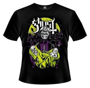 Camiseta Ghost B.C - Papa Emeritus