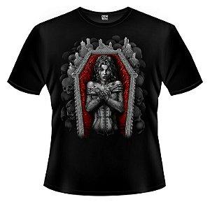 Camiseta Vampira - Caixão