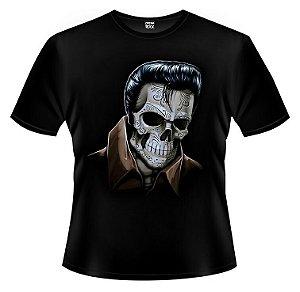 Camiseta Elvis Caveira