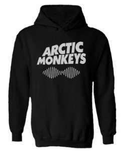 Blusa de Moletom com Capuz Arctic Monkeys