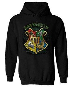 Blusa de Moletom com Capuz Harry Potter - Hogwarts