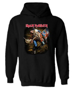 Blusa de Moletom com Capuz Iron Maiden - The Tropper