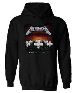 Blusa de Moletom com Capuz Metallica - Master of Puppets