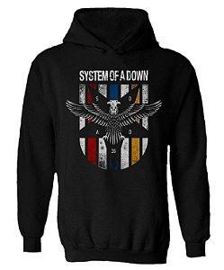 Blusa de Moletom com Capuz System of a Down