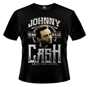 Camiseta - Johnny Cash - The Man