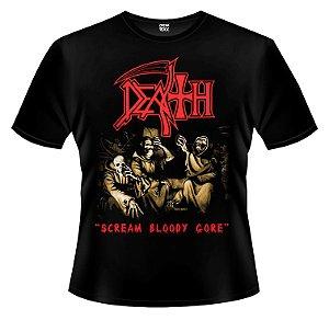 Camiseta - Death - Scream Bloody Gore