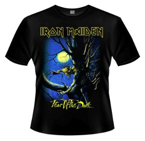 Camiseta - Iron Maiden - Fear of The Dark.