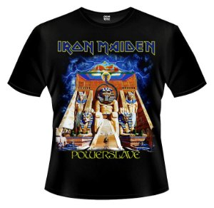 Camiseta - Iron Maiden - Powerslave