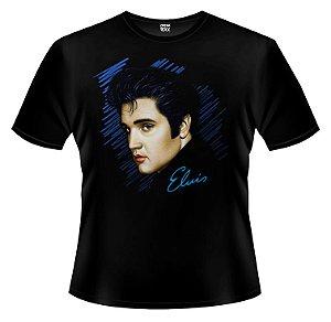 Camiseta - Elvis Presley - Rosto.