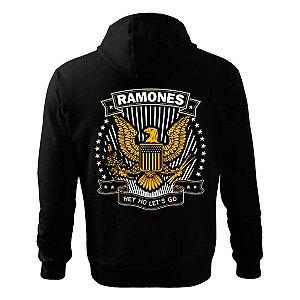 Moletom - Ramones - Hey Ho!