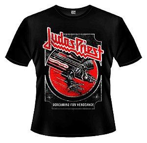 Camiseta - Judas Priest - Screaming for Vengeance.