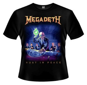 Camiseta - Megadeth - Rust in Peace.