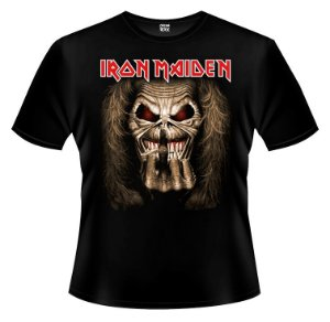 Camiseta - Iron Maiden - Middle Finger.