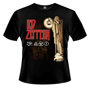 Camiseta - Led Zeppelin - The Hermit.