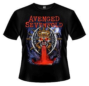 Camiseta - Avenged Sevenfold - Skull.