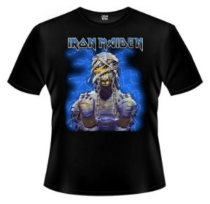 Camiseta - Iron Maiden - Powerslave - Mummy.