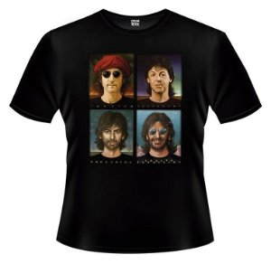 Camiseta - The Beatles- Foto.