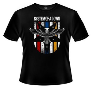 Camiseta System of a Down - Eagle