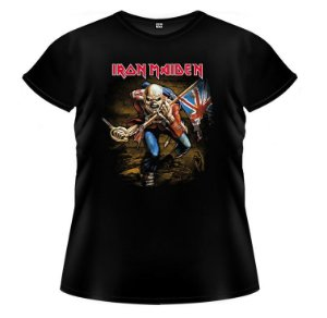 Baby Look Iron Maiden - The Trooper