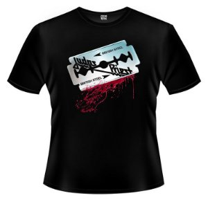 Camiseta PP Judas Priest - British Steel