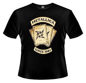 Camiseta PP Metallica