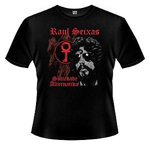 Camiseta PP Raul Seixas - Sociedade Alternativa