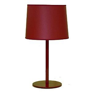 Abajur Castt Base 22cm M895 Vermelho Golden Art Sob Encomenda