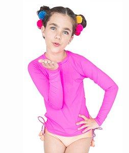 Blusa UV Feminina Lisa Pink