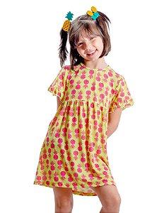 Saída Vestido Abacaxi