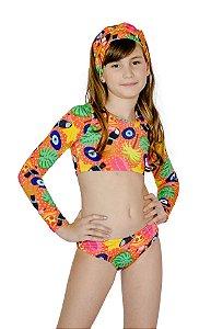 Biquíni Infantil Cropped Duda Tucano