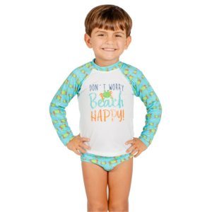 Blusa UV Infantil Masculina Siri