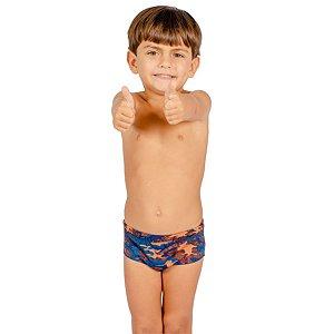 Sunga Infantil Marcelo Slim Camuflado