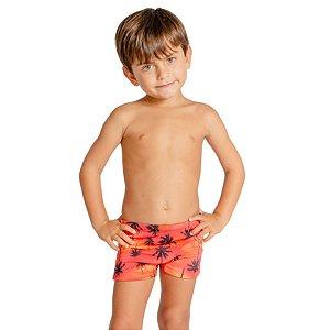Sunga Infantil Leh Boxer Coqueiro