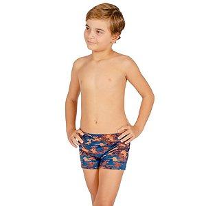 Sunga Infantil Leh Boxer Camuflado