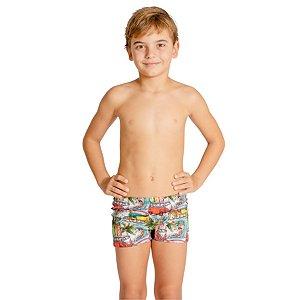 Sunga Infantil Leh Boxer Kombi