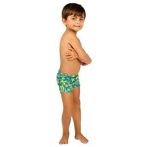 Sunga Infantil Leh Boxer Cacatua