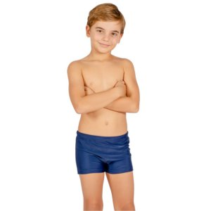 Sunga Infantil Leh Boxer Azul Marinho