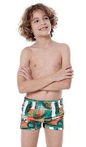 Sunga Infantil Leh Boxer Xadrez
