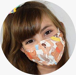 Máscara Infantil Ursinhos