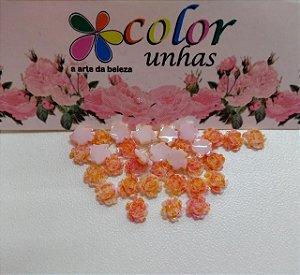 Pcte Rosa 3D laranja 32un
