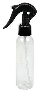Frasco Multiuso Cilíndrico com Bico Spray 120ml - Santa Clara