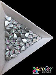 Gota da Lua Siliconada 5.7 MM - Branco AB