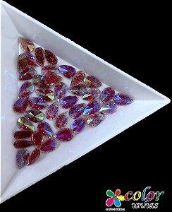 Gota Spike 5.8 MM - Glitter Vermelha