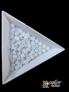 Rosa 3D - Branca