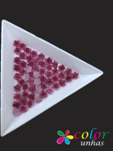 Rosa 3D - Pink Glitter