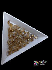 Navete Indiano 3.6 MM - Glitter Dourado